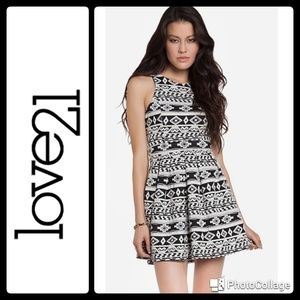 From Forever 21 - Love 21 Aztec dress